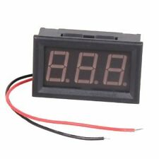 LED Mini Digital Voltmeter / Voltage Panel Meter AC 70-500V (Red)