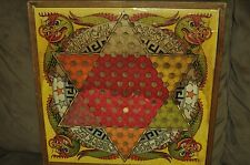 Vintage Game Board Chinese Checker King Fuu & Mill Game 1938