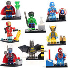 8 FIG/Sets Super Heroes Series Minifigures Building Blocks Toy Avengers Boy Gift
