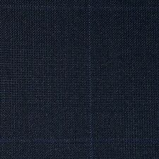 Navy Blue Glen Check Super 110's Suiting - 3.50 Metres