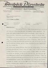 LÜDENSCHEID i. W., Brief 1935, Elektrotechnische Spezial-Fabrik F. Dörscheln