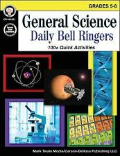 General Science, Grades 5 - 8 : Daily Bell Ringers by Schyrlet Cameron,...