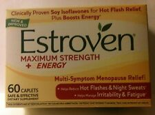 Estroven Menopause Relief MAXIMUM Strength 1 Per Day 60 Caplets Night Sleep New