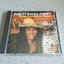 Tahiti Kaina Party CD Tahitian Rave Songs Bringue Tahitienne En Chansons