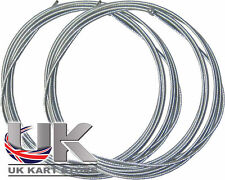 Rotax Max / Iame X30 / TKM 1.2mm x 1.9m Throttle Cable Inner x 2 UK KART STORE