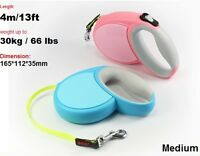 Retractable Dog Leads Cord Tape Vario Neon Classic Extending Lead 8-60kg *NwDgLd