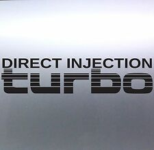 Direct Injection Turbo Stickers Toyota Landcruiser 4WD 4x4 Sticker Australian