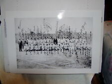 New listing Large Photo Of 1934 Major League Baseball Tour Of Japan 13 by 19 inches. Ruth