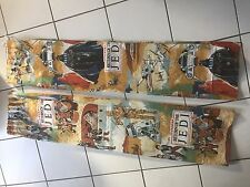 """Star Wars vintage ROTJ curtains approx. 54"""" drop x 47"""" wide plus extra material"""