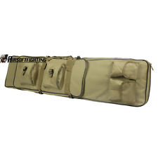 Tactical Gun Bag 120cm Heavy Duty Carry Rifle Case Double Straps Shoulder Pouch
