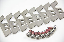 Seat Leon Cupra R Front Caliper Pad Guide Plate Stainless Steel Shims + Screws