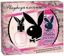 PLAYBOY Play It Sexy Gift Set per Donna 30ml EDT Spray & 250ml GEL DOCCIA