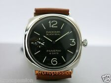 Panerai Radiomir Black Seal 8 Days Power Reserve PAM 609 R Series New !