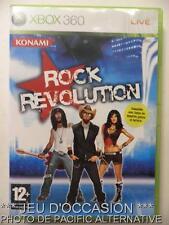 OCCASION: Jeu ROCK REVOLUTION xbox 360 microsoft game francais guitare musique