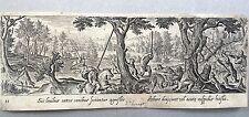 CACCIATORI A CAVALLO,Adriaen Collaert,HANS BOL,PHILIPPE GALLE 1582,Tavola 13.