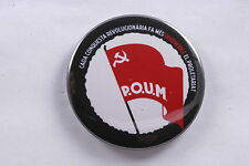 "Spain Spanish 2.25"" 57mm Magnet POUM Communist Party Trotskyist Civil War Badge"