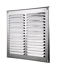 Stainless Steel Air Vent Grille 295mm x 295mm Ducting Ventilation Cover MTA10N