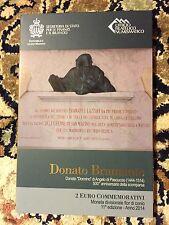2 Euro commemorativi San Marino 2014  <<500° morte di BRAMANTE>> Сан-Марино