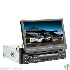 "7"" 1 Din LCD Digital Panel Car Stereo DVD Player Ipod,Bluetooth,Stereo Radio,RDS"