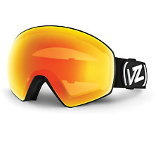 NEW Von Zipper Jetpack Goggles-BFC Black-FIre Chrome+Yellow-SAME DAY SHIPPING!