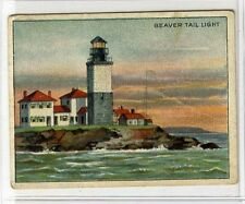 (Gx790-454) American Tob Co USA, T77 Lighthouse Series, Beaver Tail Light 1910 G