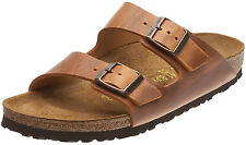 *NIB* ARIZONA 41M 10-10.5 US WOMEN'S {ANTIQUE BROWN} LEATHER SANDAL BIRKENSTOCK