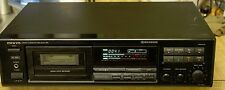 ONKYO TA-R301 Stereo Cassette Deck Auto Reverse Tested!