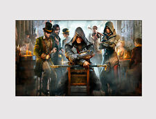 NEW 32 X LARGE CANVAS WALL ART ASSASSIN'S CREED GAME ROOM CHILDREN PRINT PICTURE