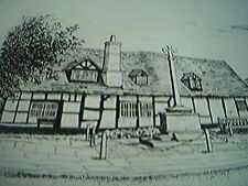 1973 book picture sketch bray the old dutch house