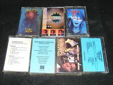 7 Early 90s Cassettes PUNK / Metal RAP Reggae Some Sealed DOTS WILL ECHO 2 Black