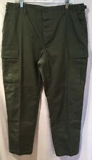 Propper Men's Green Military Cargo Tactical Pants, Large Regular Combat Trousers