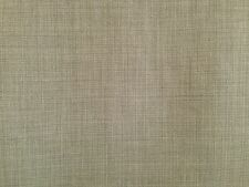CLARKE & CLARKE LINOSO FEATHER GREY PLAIN WEAVE HEAVY UPHOLSTERY CURTAIN FABRIC
