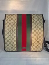 Authentic Gucci Canvas Men's Messenger Bag