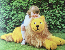 SEWING PATTERN Jean Greenhowe Sit Upon Leo the Lion Toy Chair 84cm Long RARE