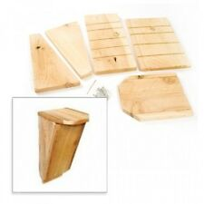 """Bat House Kit, Houses 10 Bats, Measures 14"""" H x 6"""" W, Made in USA, New"""