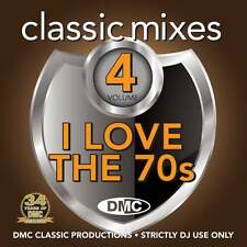 DMC Classic Mixes - I LOVE THE 70s Vol 4 Mixed Music CD Seventies