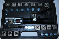 """Universal Hydraulic Push Connect Forming Flaring Tool Set 3/16""""-1/2"""" (4.75-10MM)"""