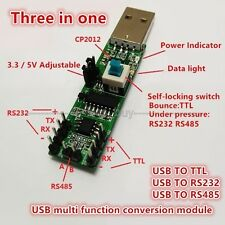 3in1 Serial port module USB TO RS232 TTL RS485 USB Serial port module CP2102