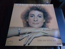 33 TOURS / LP--MARIE PAULE BELLE--SUR UN VOLCAN--1985