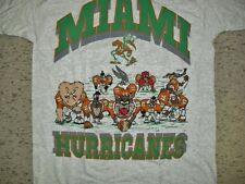 Miami Hurricanes shirt Vintage 90's Looney Tunes sz. XL NEW MINT Bugs Bunny Taz