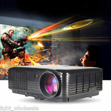 3500LM Home Film Theater Business LED Projector VGA USB SD HDMI Input 1920x1200