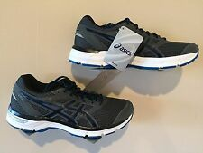 ASICS Men's Shoes Gel Excite 4 Carbon/Black/Electric Blue - Size 9