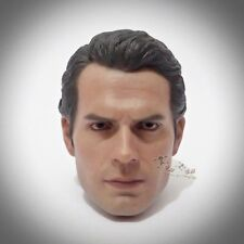 Hot Toys MMS200 Man of Steel SUPERMAN Figure 1/6th Scale HEAD SCULPT