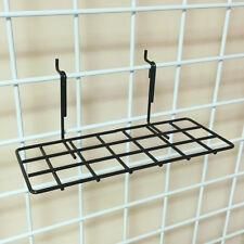 """Gridwall Grid Panel 4""""x10"""" Flat Metal Wire Shoe Shelf - Lot of 10"""