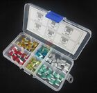 60pcs Assorted Auto Car Low Profile Micro Mini Blade Fuse 5A 10A 15A 20A 25A 30A