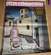 MICHELE PLACIDO - PIZZA CONNECTION * RARE EAST GERMAN ART POSTER