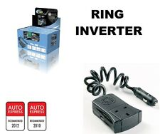 Ring Auto MP:120w 12v Car to 240v UK Home Mains & USB Socket Mini Power Inverter
