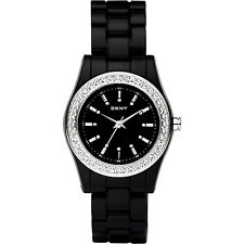DKNY NY8146 CHAMBER DIAMANTE BEZEL LADIES WATCH  ---- 2 YRS WARRANTY