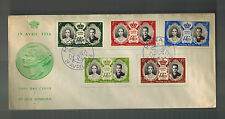 1956 Monaco Royal Wedding first day cover Prince Rainier Grace Kelly Green FDC