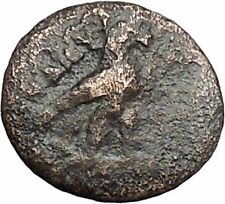 KYME in AEOLIS 350BC Eagle Vase Genuine Authentic Ancient Greek Coin i48156